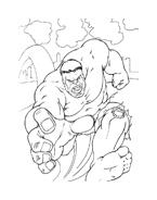 Hulk da colorare 18