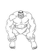 Hulk da colorare 20
