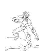 Hulk da colorare 22