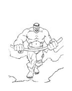 Hulk da colorare 24