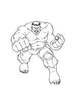 Hulk da colorare 25