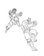 Hulk da colorare 29