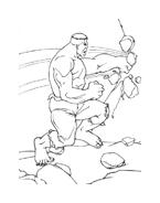 Hulk da colorare 30