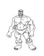 Hulk da colorare 35