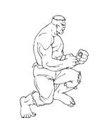Hulk da colorare 36