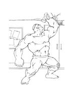 Hulk da colorare 37