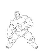 Hulk da colorare 39