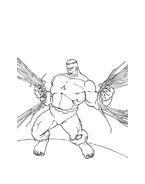 Hulk da colorare 45
