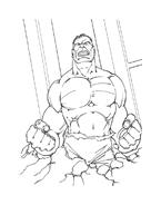 Hulk da colorare 48