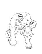 Hulk da colorare 57