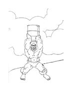 Hulk da colorare 58