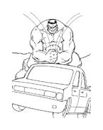 Hulk da colorare 70