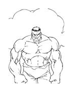 Hulk da colorare 71