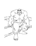 Hulk da colorare 72