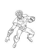 Hulk da colorare 74