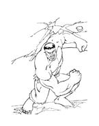Hulk da colorare 76