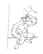 Hulk da colorare 79