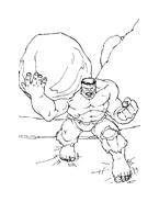Hulk da colorare 81