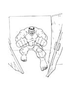 Hulk da colorare 84