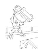 Hulk da colorare 85