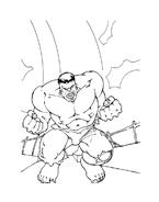 Hulk da colorare 91