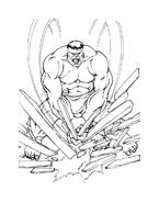 Hulk da colorare 93