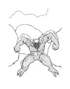 Hulk da colorare 100