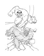 Hulk da colorare 102