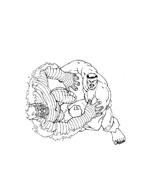 Hulk da colorare 103