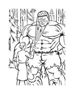 Hulk da colorare 104