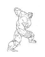 Hulk da colorare 105