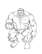 Hulk da colorare 107