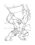 Hulk da colorare 109