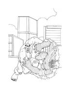 Hulk da colorare 112