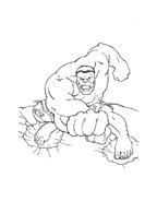 Hulk da colorare 114