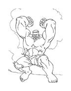 Hulk da colorare 116