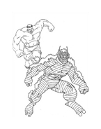 Hulk da colorare 119