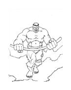 Hulk da colorare 120