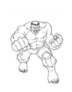 Hulk da colorare 121
