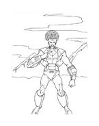 Hulk da colorare 123