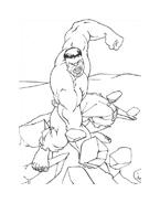 Hulk da colorare 127