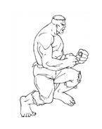 Hulk da colorare 130