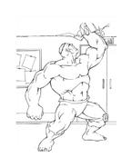 Hulk da colorare 131