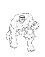 Hulk da colorare 150