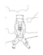 Hulk da colorare 151