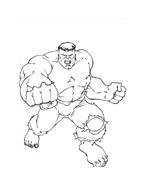 Hulk da colorare 152