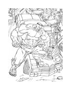Hulk da colorare 155