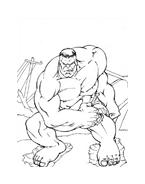 Hulk da colorare 161