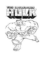Hulk da colorare 164