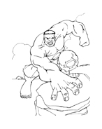 Hulk da colorare 168